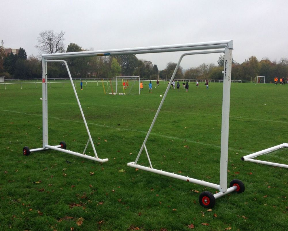 GOAL POST TRANSPORTER WHEELS - SMALL - for lightweight 80mm Goals
